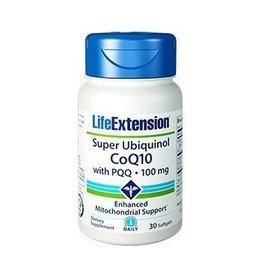 Life Extension Super Ubiquinol Coq10 With Pqq®, 100 Mg 30 Softgels, 3-pack