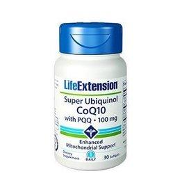 Life Extension Super Ubiquinol Coq10 With Pqq®, 100 Mg 30 Softgels, 10-pack