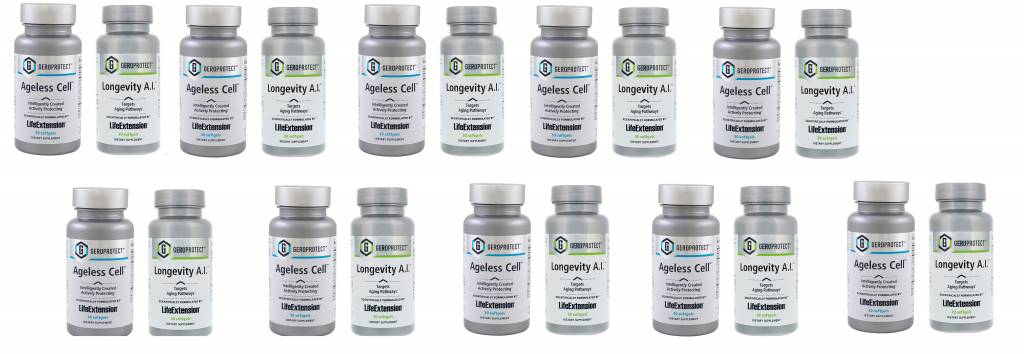 Life Extension Anti-aging Kit, 10-pack