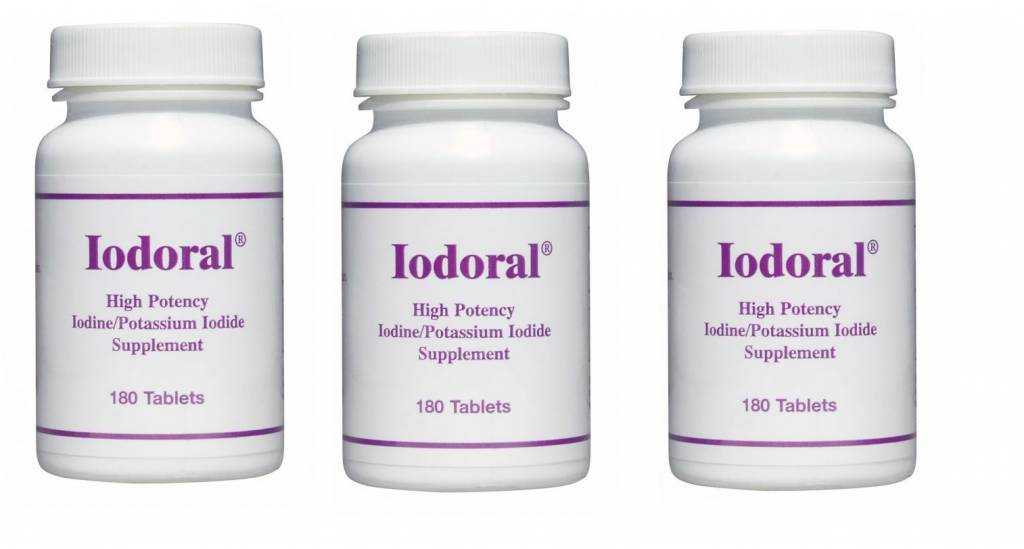 Life Extension Iodoral, 3-pack