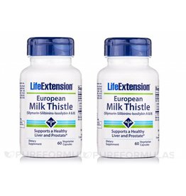 Life Extension Certified European Milk Thistle, 2-pack