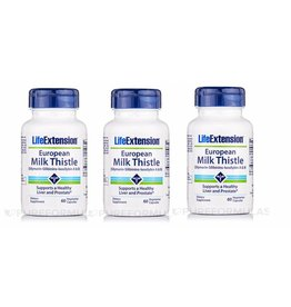 Life Extension Certified European Milk Thistle, 3-pack