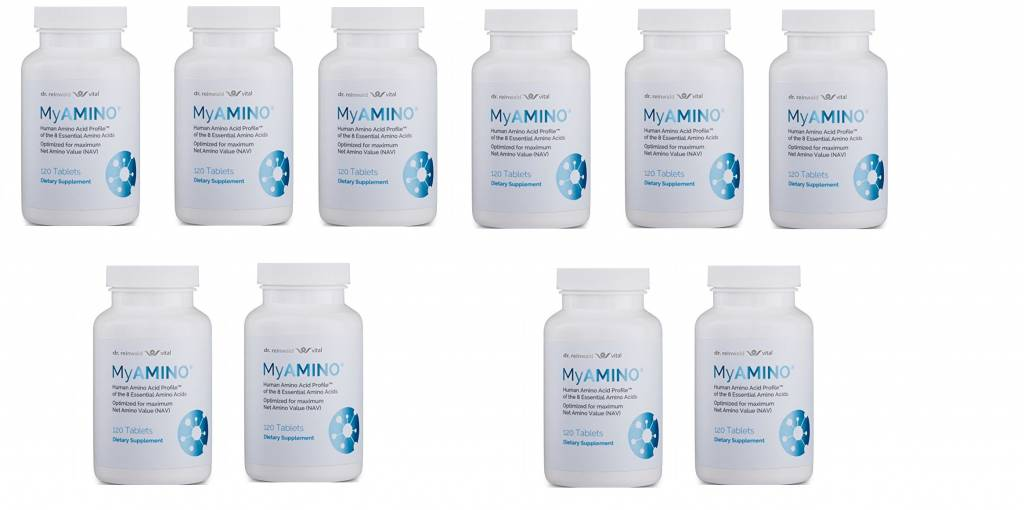 Dr. Reinwald MyAMINO (120 Tablets), 10-pack