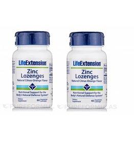 Life Extension Zinc Lozenges, 60 Vegetarian Lozenges, 2-pack