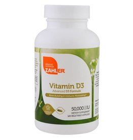 Dental Supps Vitamin D3, 50,000 IU, 120 Vegetable Capsules