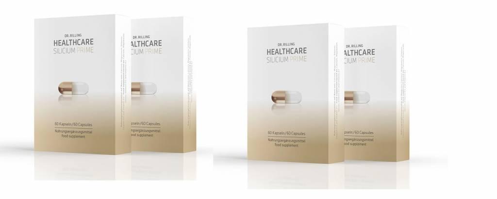 Dr. Rilling Healthcare Dr. Rilling Healthcare Silicium Prime, 2-pack