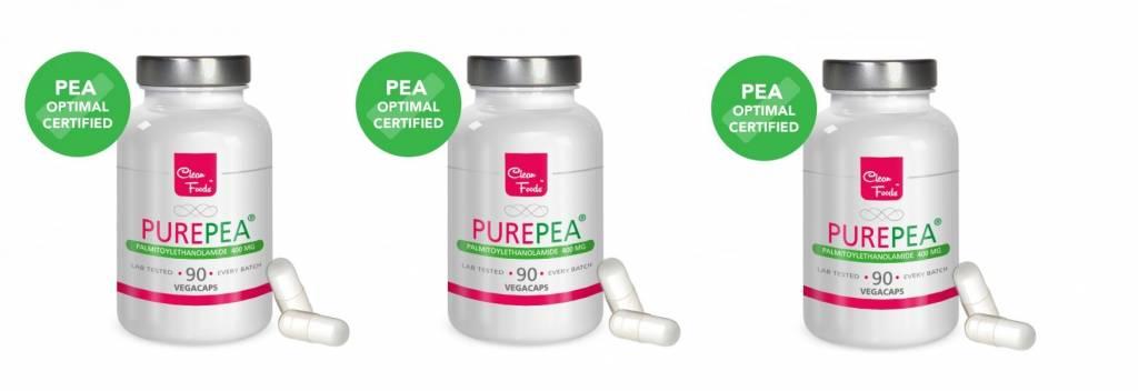Dental Supps Purepea 3-pack, 90 Vegetarian Capsules