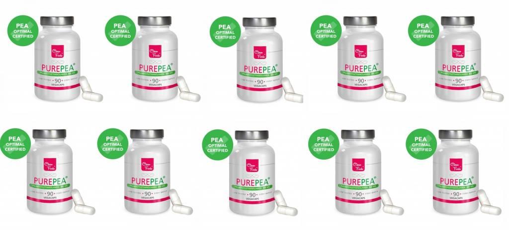 Cleanfoods Purepea 10-pack, 90 Vegetarian Capsules