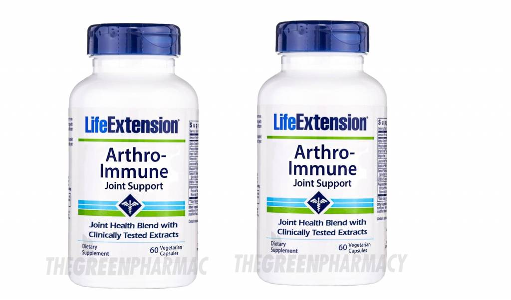 Life Extension Arthro-immune Joint Support, 60 Vegetarian Capsules, 2-pack