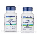 Life Extension Asian Energy Boost, 90 Vegetarian Capsules, 2-pack
