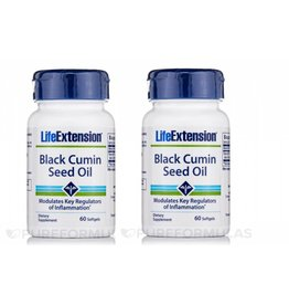 Life Extension Black Cumin Seed Oil, 60 Softgels, 2-pack