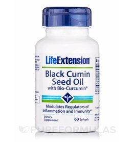 Life Extension Black Cumin Seed Oil with Bio-Curcumin