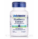 Life Extension Blueberry Extract with Pomegranate, 60 Vegetarian Capsules