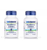 Life Extension Blueberry Extract With Pomegranate, 60 Vegetarian Capsules, 2-pack