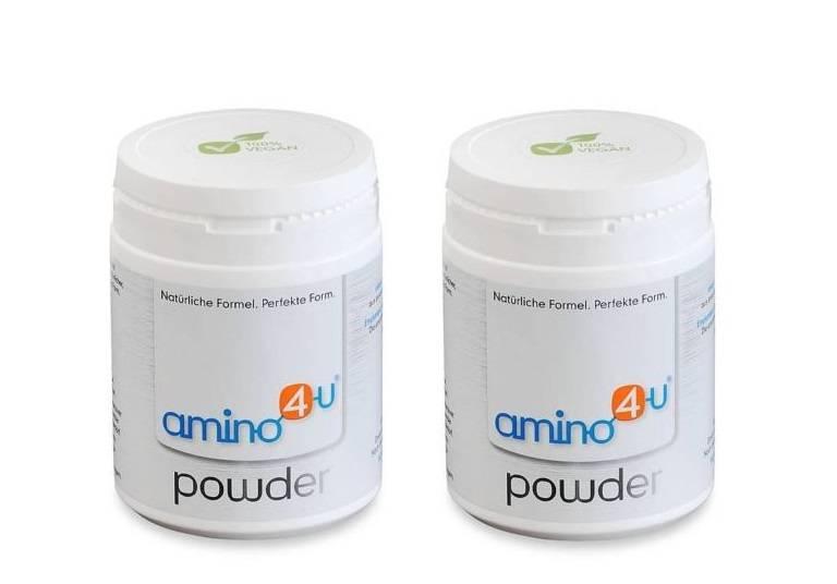 amino4u Amino4u Powder, 120g, 2-pack