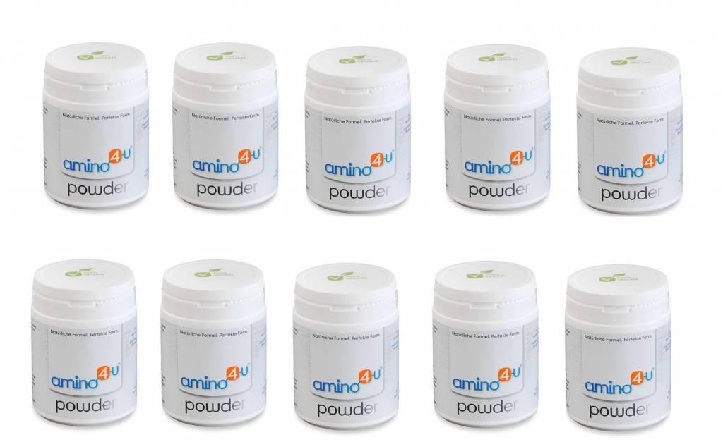 amino4u Amino4u Powder, 120g, 10-pack