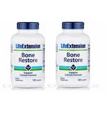 Life Extension Bone Restore, 120 Capsules, 2-packs