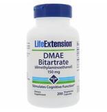 Life Extension DMAE Bitartrate (dimethylaminoethanol), 200 Vegetarian Capsules