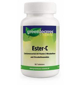 Greenleaves vitamins Ester-C 1000 Mg, 90 Capsules