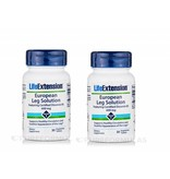 Life Extension European Leg Solution Featuring Certified Diosmin 95, 600 Mg, 30 Vegetarian Tablets, 2-pack