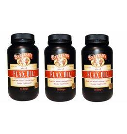 Barlean's Fresh Flax Oil, 250 Softgels, 3-pack