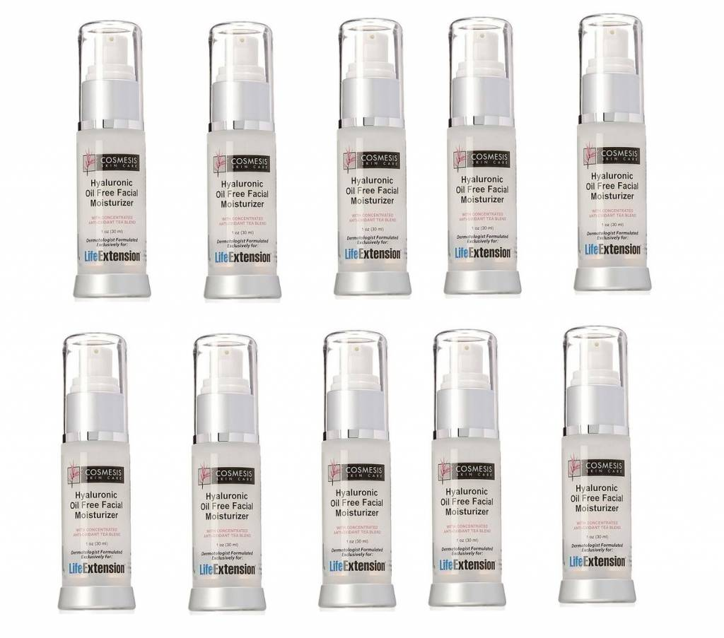 Cosmesis Hyaluronic Facial Moisturiser, 1 Oz., 10-pack