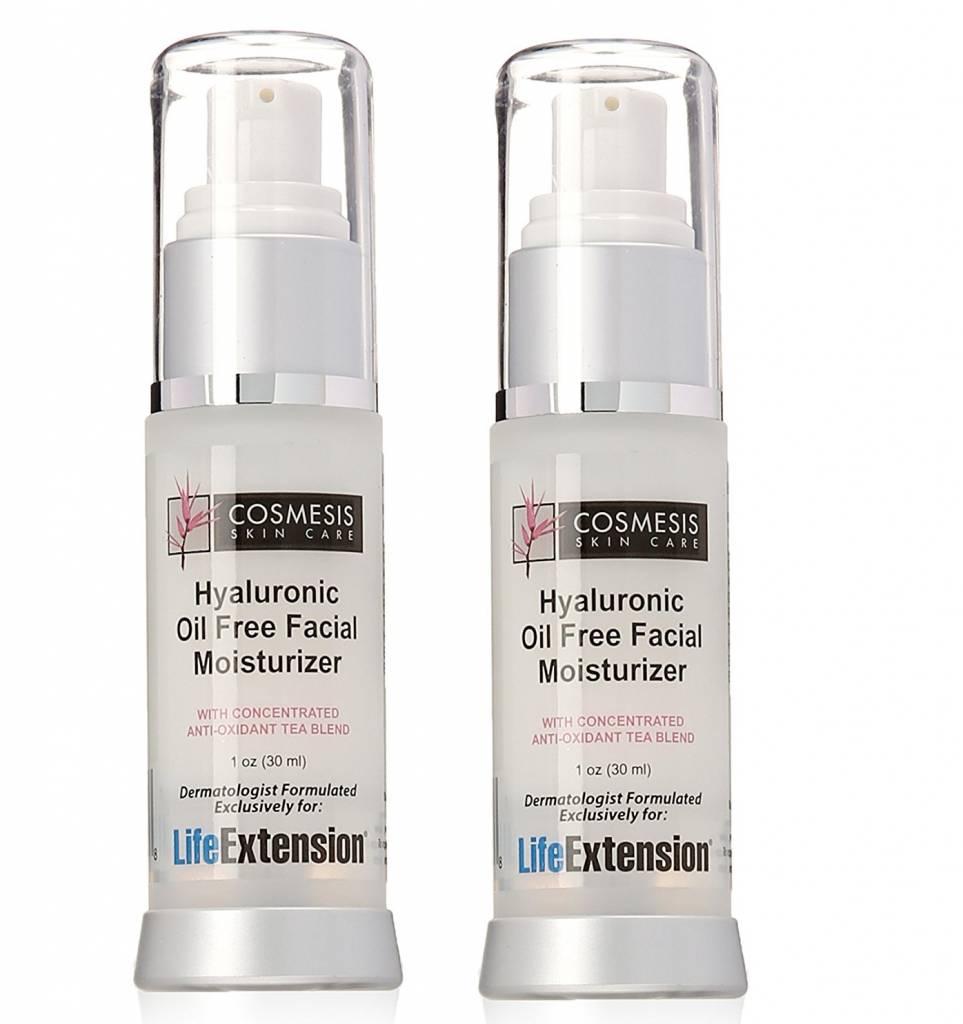 Cosmesis Hyaluronic Oil-free Facial Moisturiser, 1 Oz., 2-pack