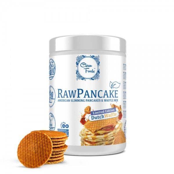 Cleanfoods Raw Pancakes Dutch Waffle, 425g Net, (32 Pancakes)