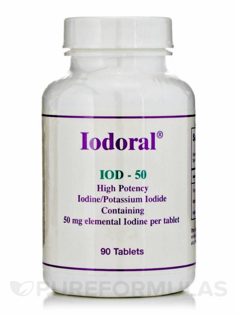 Optimox Iodoral 50mg, 90 Tablets
