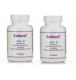 Optimox Iodoral 50mg, 90 Capsules, 2-pack