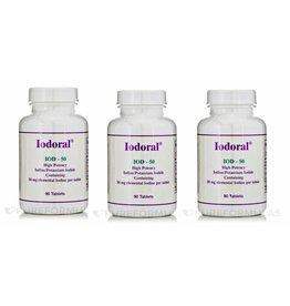 Optimox Iodoral 50mg, 90 Capsules, 3-pack