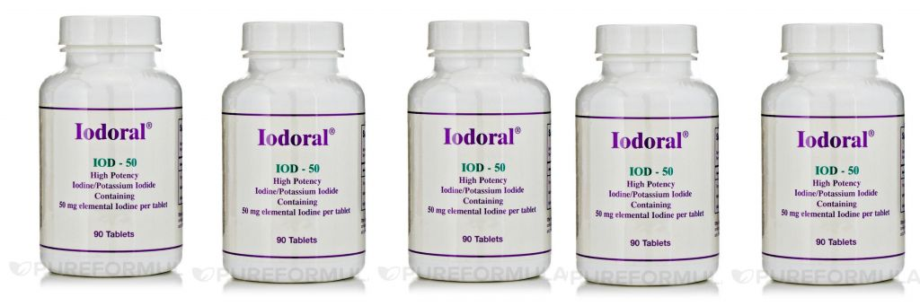 Optimox Iodoral 50mg, 90 Capsules, 5-pack
