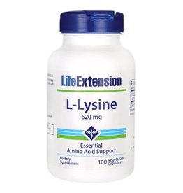 Life Extension L-Lysine, 620 mg 100 vegetarian capsules