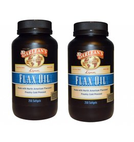 Barlean's Lignan Flax Oil, 250 Softgels, 2-pack