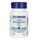 Life Extension  Low-Dose Vitamin K2, 45 mcg, 90 softgels