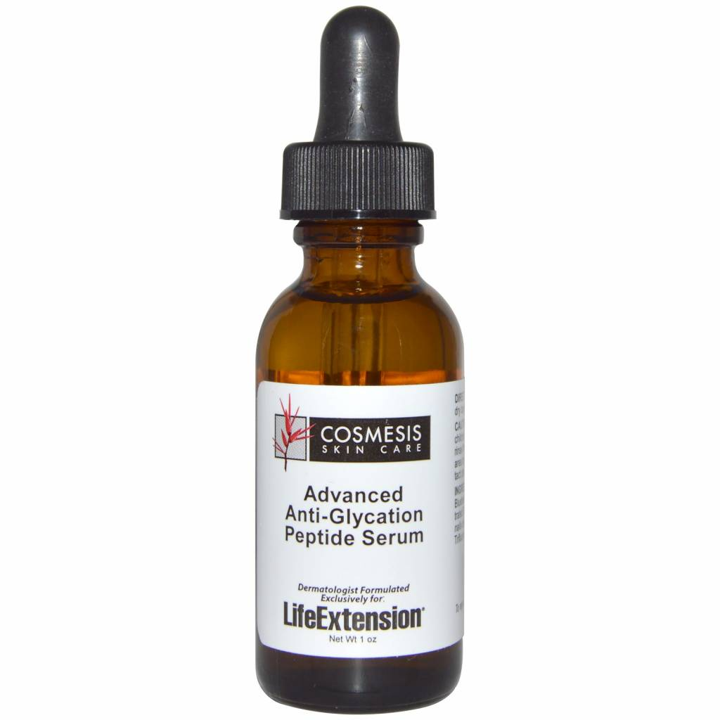 Cosmesis Advanced Anti-Glycation Peptide Serum, 1 oz.