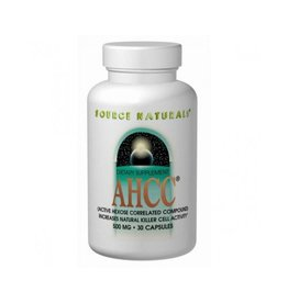 Source Naturals AHCC® (Active Hexose Correlated Compound), 500 mg 30 Capsules