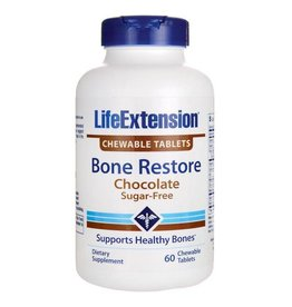 Life Extension Bone Restore Chocolate, 60 Chewable Tablets