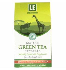 Life Extension Kenyan Green Tea Crystals, 14 Stick Packs