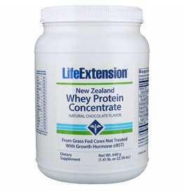 Life Extension Whey Protein Isolate (Natural Chocolate Flavour), 454 grams (1 lb. or 16 oz.)