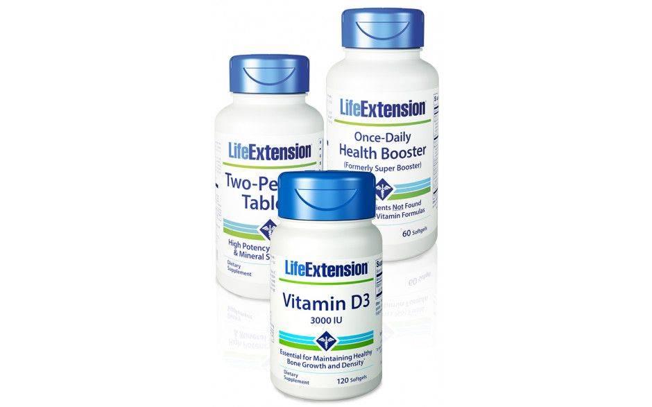 Life Extension Basic Vitamins Starter-kit
