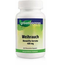 Greenleaves vitamins Weihrauch - Boswellia Serrata 350 Mg, 3-pack