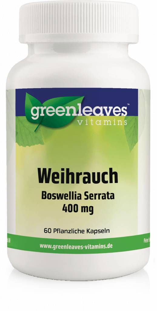 Greenleaves vitamins Weihrauch - Boswellia Serrata 350 Mg, 5-pack