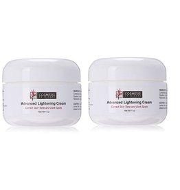 Cosmesis Advanced Lightening Cream, 1 Oz, 2-pack