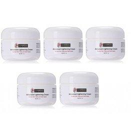 Cosmesis Advanced Lightening Cream, 1 Oz, 5-pack