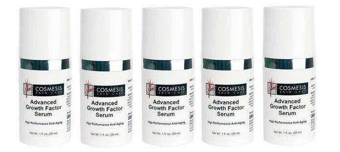 Cosmesis Advanced Growth Factor Serum, 30 ml, 5-pack