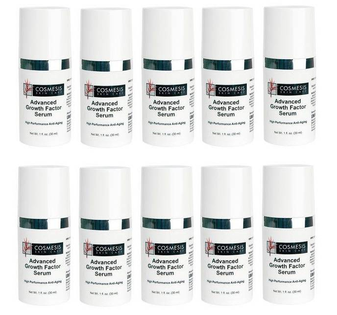 Cosmesis Advanced Growth Factor Serum, 30 ml, 10-pack
