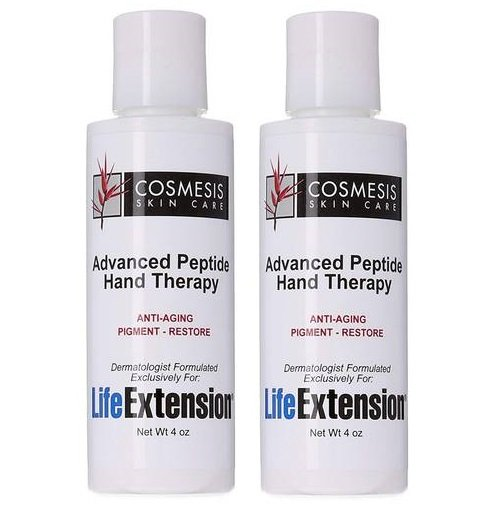 Cosmesis Advanced Peptide Hand Therapy, 4 Oz., 2-pack