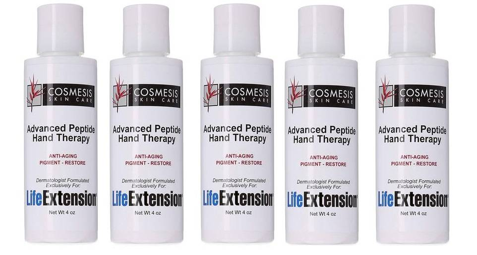 Cosmesis Advanced Peptide Hand Therapy, 4 Oz., 5-pack