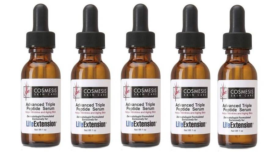 Cosmesis Advanced Triple Peptide Serum, 1 Oz. (30ml), 5-pack